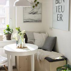 die besten 25 esszimmer klein ideen auf pinterest studio k che kleiner k chentisch und bunte. Black Bedroom Furniture Sets. Home Design Ideas