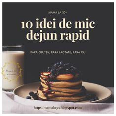 10 idei pentru un mic dejun rapid fara gluten, fara lactate, fara ou Cocktail Meatballs, Carb Alternatives, Cocktail Desserts, Coco, Food To Make, Deserts, Paleo, Low Carb, Gem