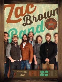 Zac Brown Band - April 20, 2013