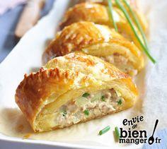 Roulé thon/fromage frais
