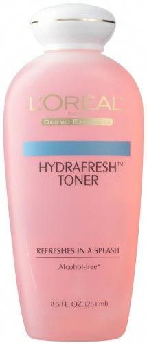 L'Oreal Hydrafresh Toner, 8.5 Fl Oz, Multi #BrownSpotsOnSkin