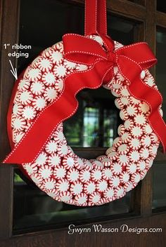 Candy Wreath Tutorial