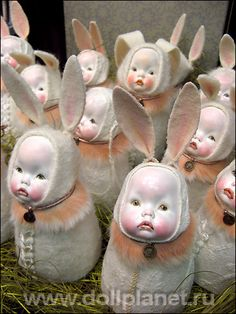 Авторские куклы Светланы Дубодел