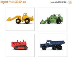 FLASH SALE til MIDNIGHT Set of Four Construction by shawnstpeter
