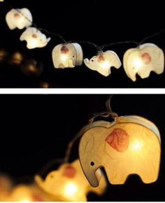 elephant string lightss