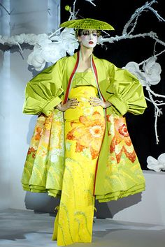 Christian Dior Haute Couture  Show Spring/Summer 2007(Part 2)