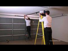 how to install belt drive garage door opener - Google Search Chamberlain Garage Door Opener, Garage Door Opener Installation, Garage Door Maintenance, Belt Drive, Garage Ideas, New Construction, Garage Doors, Google Search, Inspiration