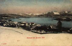 Møre og Romsdal fylke Aalesund før branden i 1904 Utg J. Aarflot