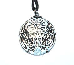 Mythical Phoenix Pendant – Celtic Pewter Jewellery