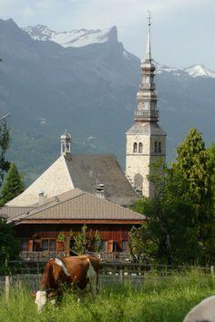 L'église de Combloux. A découvrir avec les @GuidesGPPS www.gpps.fr