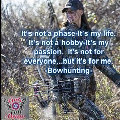I've been in love w archery since I was very young. Bow hunting came natural being my parents both bow hunted w me since I was small. Then taught me :)