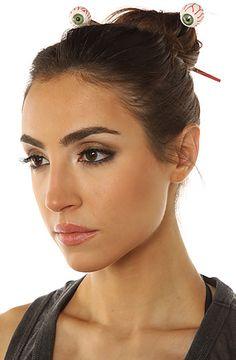MKL Accessories- Eyeball Hair Chopsticks