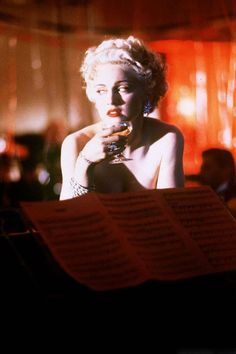 Madonna as Breathless Mahoney in Dick Tracy 1990