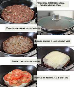 Pizza de Carne Moída ~ PANELATERAPIA - Blog de Culinária, Gastronomia e Receitas