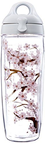 Tervis Tumbler Cherry Blossom Wrap Water Bottle with Lid ** Check this awesome product by going to the link at the image.(This is an Amazon affiliate link and I receive a commission for the sales)