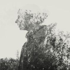 Double Exposure Shots by Martin Lovekosi, via Behance