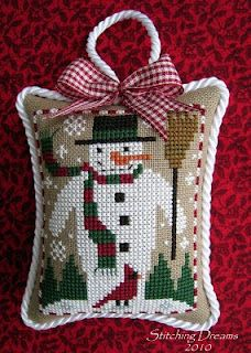 The World's Largest Collection of Smalls TOO: Prairie Schooler Snowman and Cardinal Santa Cross Stitch, Just Cross Stitch, Cross Stitch Finishing, Cross Stitch Needles, Beaded Cross Stitch, Crochet Cross, Cross Stitch Samplers, Cross Stitch Charts, Cross Stitch Designs