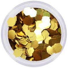 Confeti Purpurina Dorado