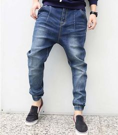 We love it and we know you also love it as well 2017 new fashion spring casual men pencil jeans elastic spring plus size plus size design harem jeans size 30-42 just only $29.52 - 32.72 with free shipping worldwide  #jeansformen Plese click on picture to see our special price for you