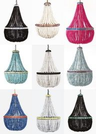 want to make the robins egg blue with the DIY directions for a hanging basket into faux chandelier!