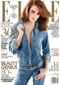Emma Watson Covers Elle Magazine, Explains Why She's So Jealous Of Certain Actresses | E! Online Mobile