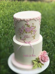 Rosas modeladas y pintadas a mano by Griselda de Pedro