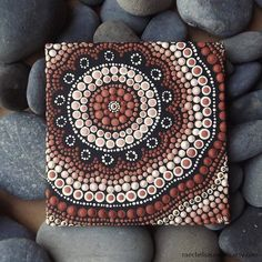Aboriginal Dot Art Painting Earth Deign by by RaechelSaunders