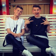 I want to meet these boys! Mac, Marcus Y Martinus, Love Twins, Bars And Melody, Dream Boyfriend, I Go Crazy, Love U Forever, You Are Cute, Star Wars