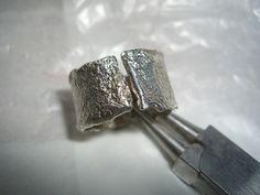 Weiteres - Rustikaler Ring aus 925/ooo Silber - ein Designerstück von schmuckspektakel bei DaWanda