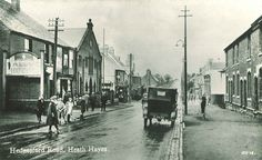 Hednesford Road, Heath Hayes. This is in the county of Staffordshire, England and it still exists today.