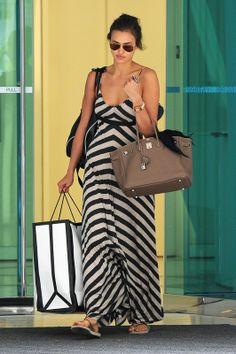 irina shayk long dress