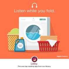Thousands of audiobooks available for free at your local library!