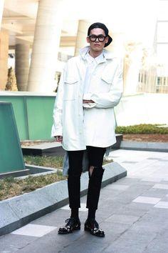 Streetstyle: Kim Wonjung at Seoul Fashion Week F/W 2013  shot by W.S.C