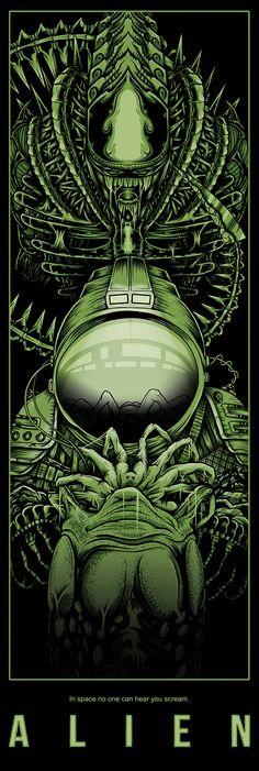 #Alien by @ArnoKiss