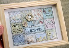 Paper patchwork - how pretty!
