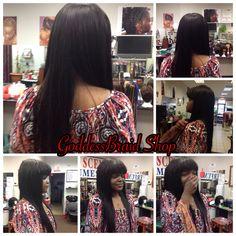 Full Sew-In at Goddess Braid Shop. www.goddessbraidshop.com.