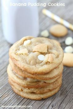 Banana Pudding Cookies | Two Peas and Their Pod (www.twopeasandtheirpod.com)