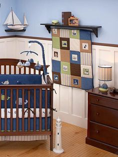 My first son's room will be sailor theme. The second's... pirate. Do you think I love water?! I hope my future children do!