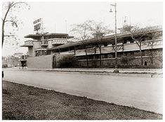 Midway Gardens - Wright, Frank Lloyd | Midway Dancing Gardens 1925, looking Southeast across Sixtieth ...