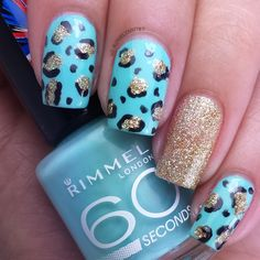 Full details on this mani and how I created it can be found on my blog   ManicuredandMarvelous.com #nails #nailart #naildesign #cutenails