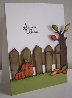 Stampin Up Thanksgiving Cards | Autumn Wishes - CAS188 | Paper Obsession Fall