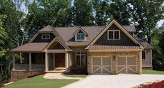 Split Bedroom Craftsman Home Plan - 15667GE   Craftsman, Mountain, Northwest, Luxury, Photo Gallery, Premium Collection, 1st Floor Master Suite, Butler Walk-in Pantry, CAD Available, MBR Sitting Area, Media-Game-Home Theater, PDF, Split Bedrooms, Sloping Lot   Architectural Designs