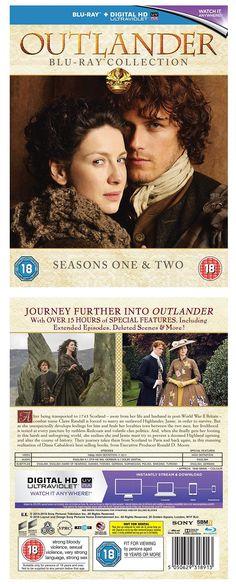 cds dvds vhs: Outlander Seasons 1-2 Blu-Ray Set Brand New Free Ship -> BUY IT NOW ONLY: $52.95 on eBay!
