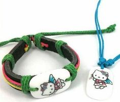 Hello Kitty Bracelet And Necklace