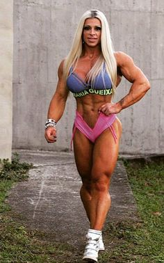 Female #Fitness, Figure and Bodybuilder Competitors: Anne Freitas - Muscular Strength