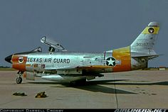 This photo is of a F-86L part of the Texas Air National Guard in 1960 at NAS Dallas. The Guard commander took me over to the flight line in ...