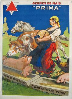 Original vintage poster Prima by Dorfi.