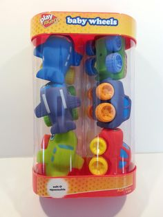 Play Right Baby Wheels - Blue Purple Green Airplanes & Trucks -- Awesome products selected by Anna Churchill