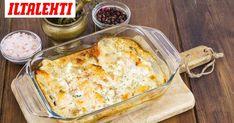 Laatikkoruoka vain paranee jääkaapissa ja maistuu siksi seuraavanakin päivänä. Fish Dishes, Lasagna, Macaroni And Cheese, Ethnic Recipes, Lasagne, Mac And Cheese