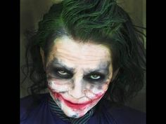 excellent costume makeup, 'The Joker,' applied by Kandee Johnson